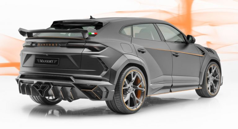 the back the urus